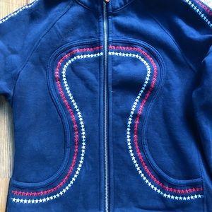 lululemon athletica Sweaters - US flag 🇺🇸 design hoodie
